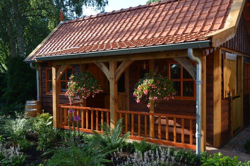 maatwerk-tuinhuis-19 - Project Venhuizen: Maatwerk houten tuinhuis