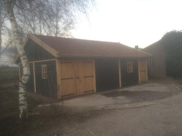 houten-schuur-1-600x450 - Twee Landelijke Schuren