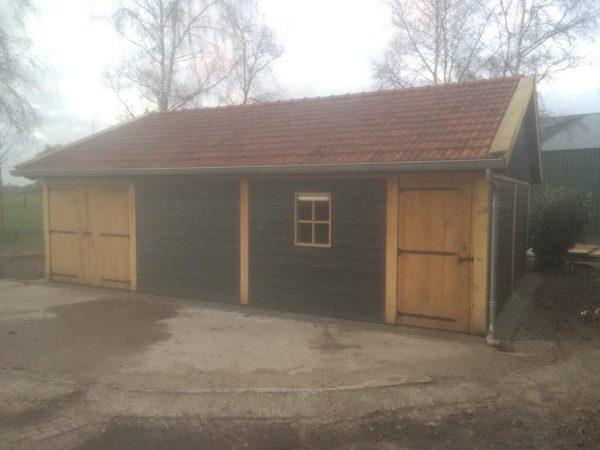 houten-schuur-2-600x450 - Twee Landelijke Schuren