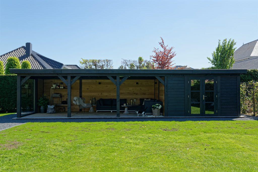houten-tuinkamer-10-1024x683 - Sfeervolle houten tuinkamer