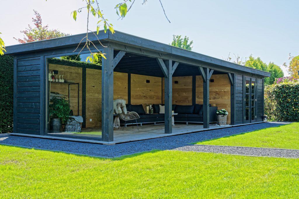 houten-tuinkamer-1024x683 - Sfeervolle houten tuinkamer