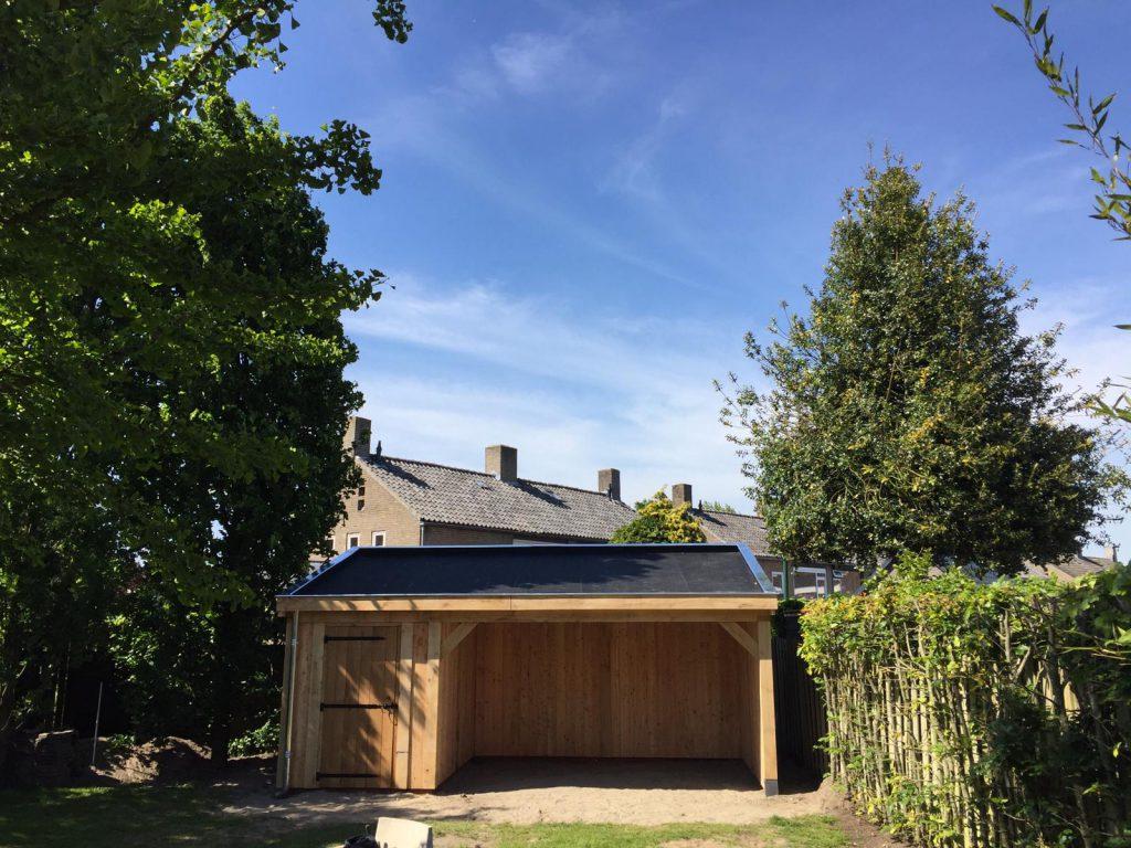 tuinhuis-met-zonnepanelen-3-1024x768 - Tuinhuis met zonnepanelen