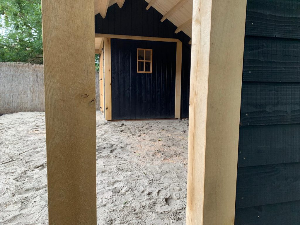 houten-kapschuur-met-tuinkamer-2-1024x768 - Houten kapschuur met tuinkamer.