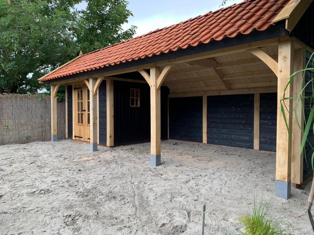 houten-kapschuur-met-tuinkamer-3-1024x768 - Houten kapschuur met tuinkamer.