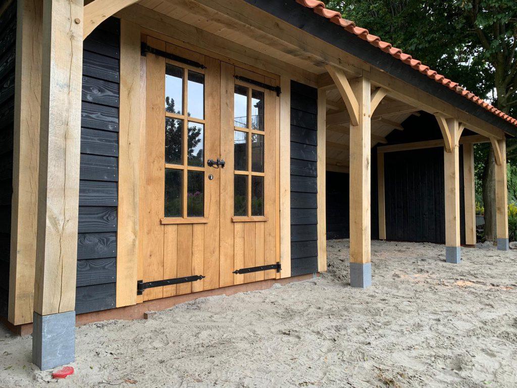 houten-kapschuur-met-tuinkamer-5-1024x768 - Houten kapschuur met tuinkamer.