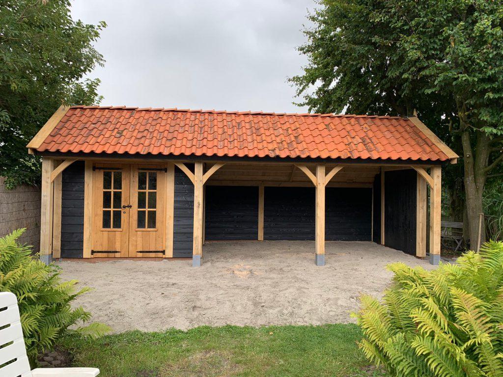 houten-kapschuur-met-tuinkamer-6-1024x768 - Houten kapschuur met tuinkamer.
