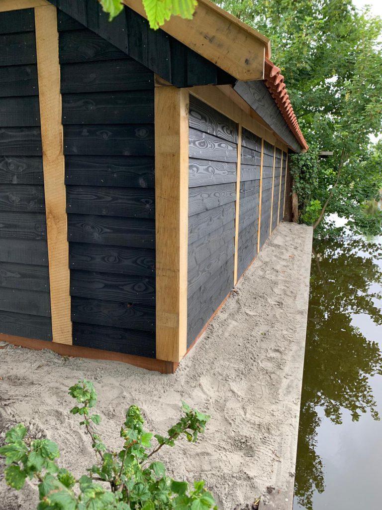 houten-kapschuur-met-tuinkamer-768x1024 - Houten kapschuur met tuinkamer.