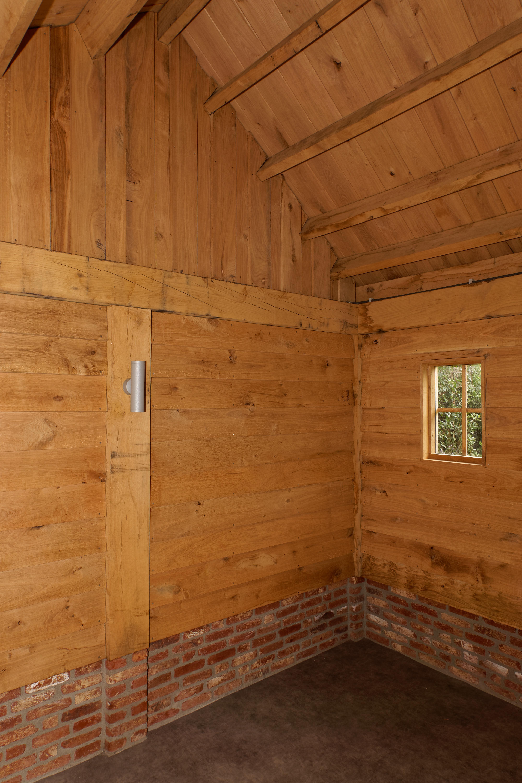 Eiken-kapschuur-met-veranda-5 - Project Sint Niklaas: Eiken Bijgebouw