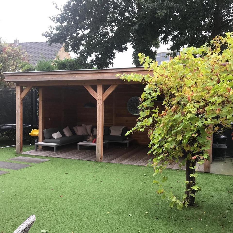 houten-overkapping-rotterdam - Houten overkapping