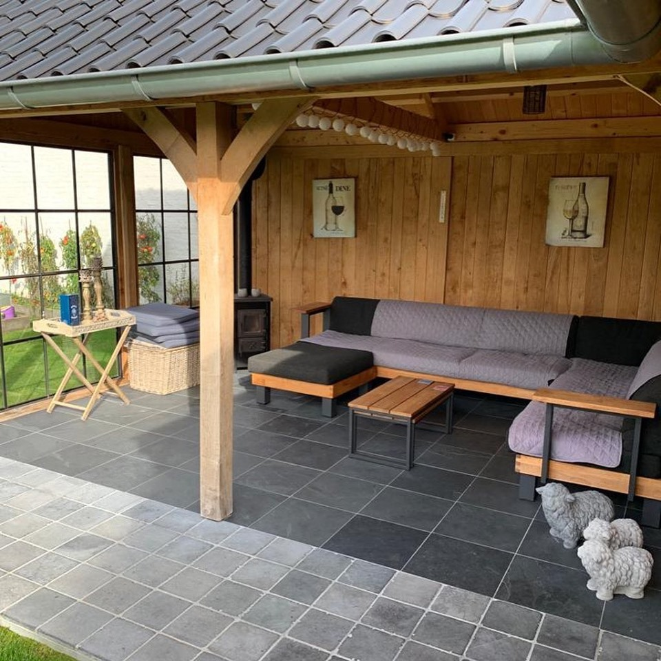 poolhouse-hoekmodel-1 - Houten poolhouse