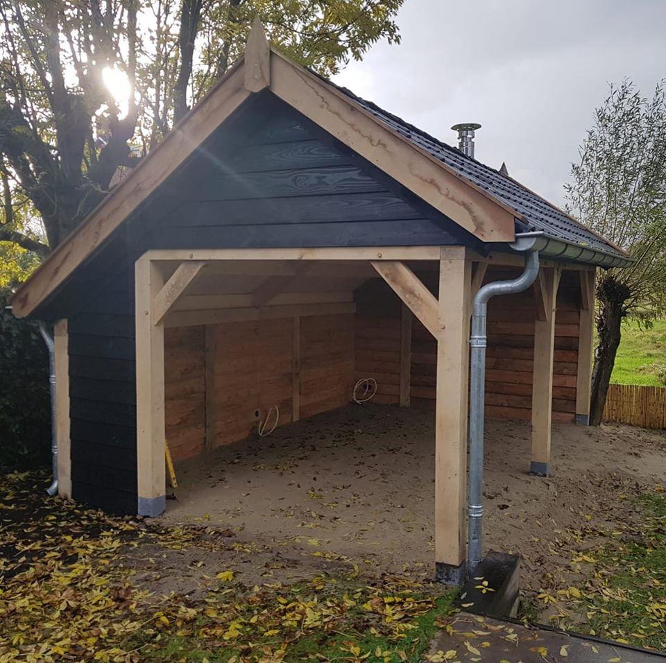 houten-tuinkamer-1 - Landelijke tuinkamer