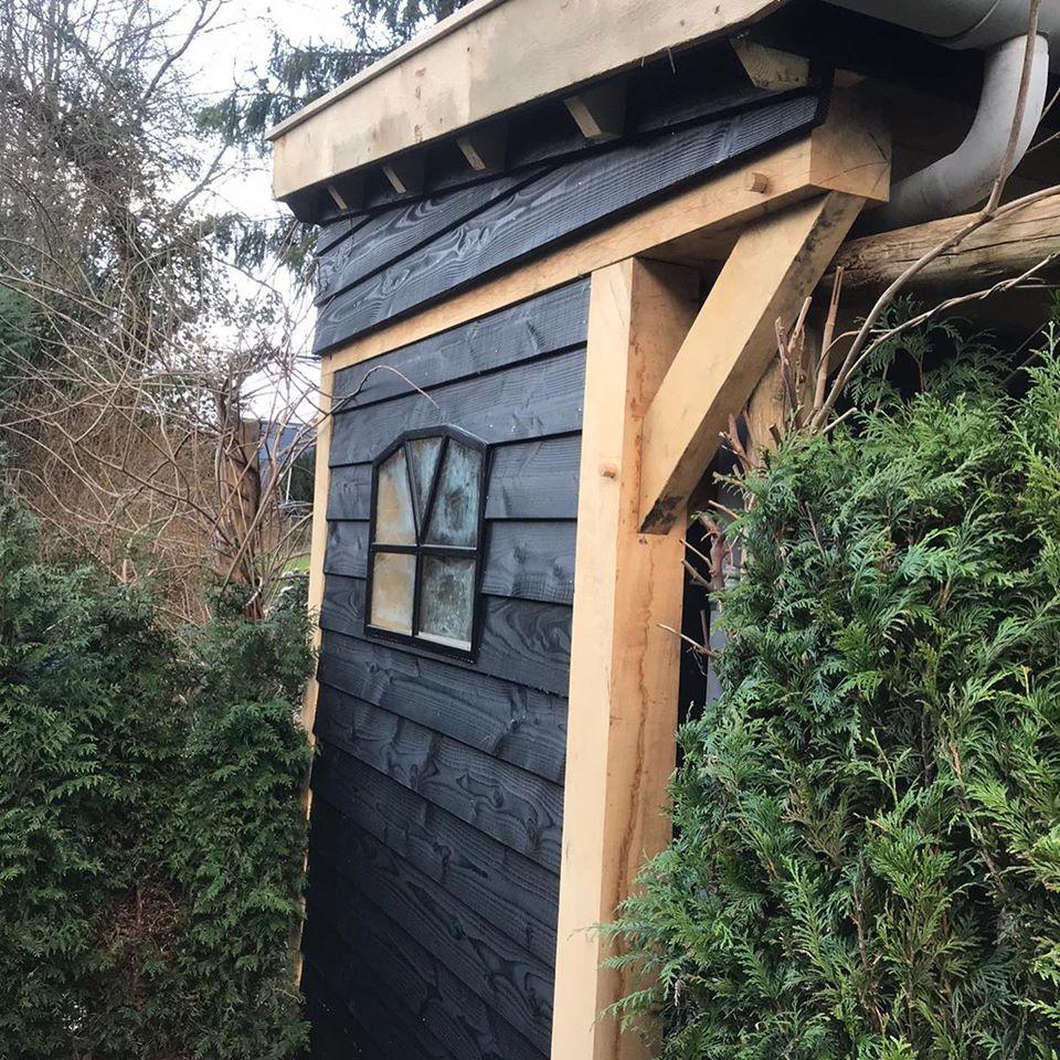 houten-tuinberging-1 - Houten tuinberging