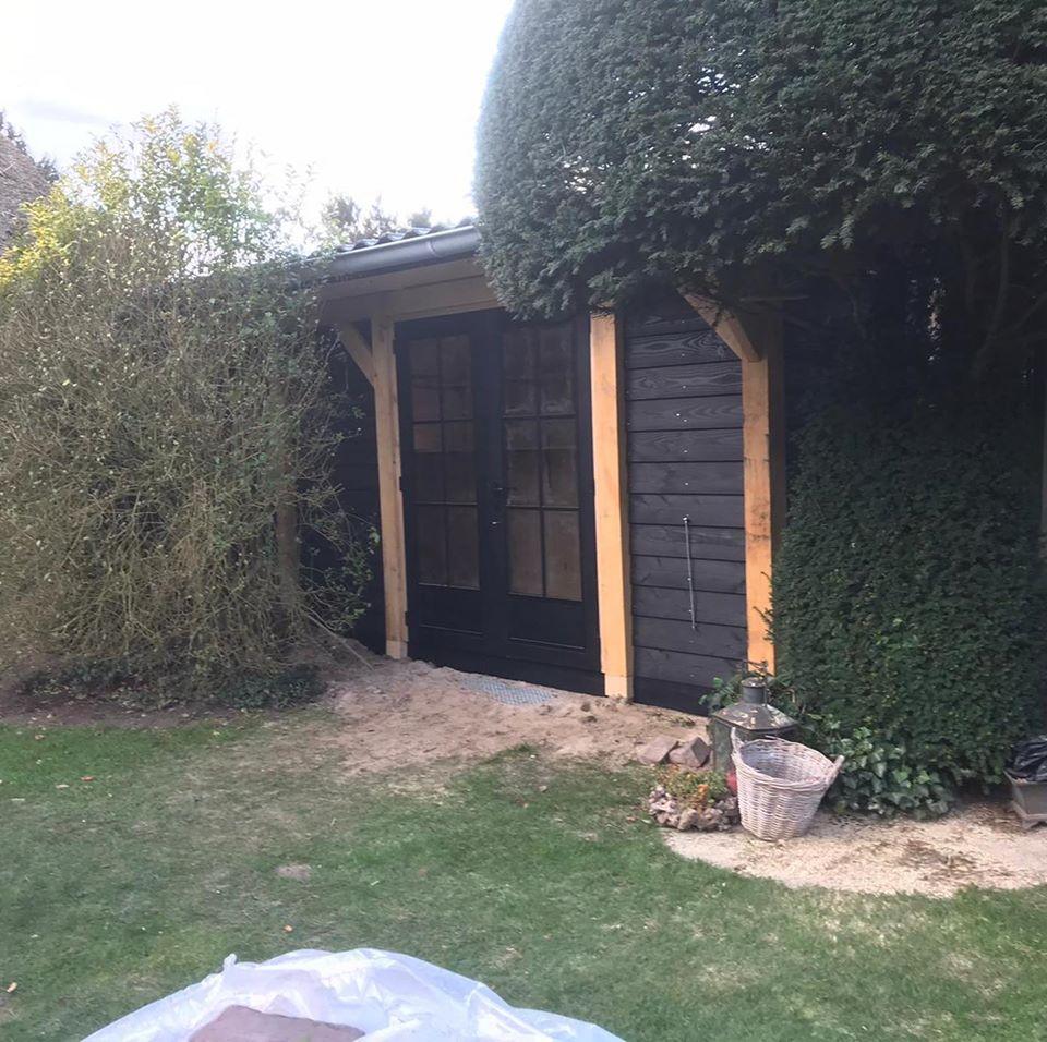 houten-tuinberging-2 - Houten tuinberging