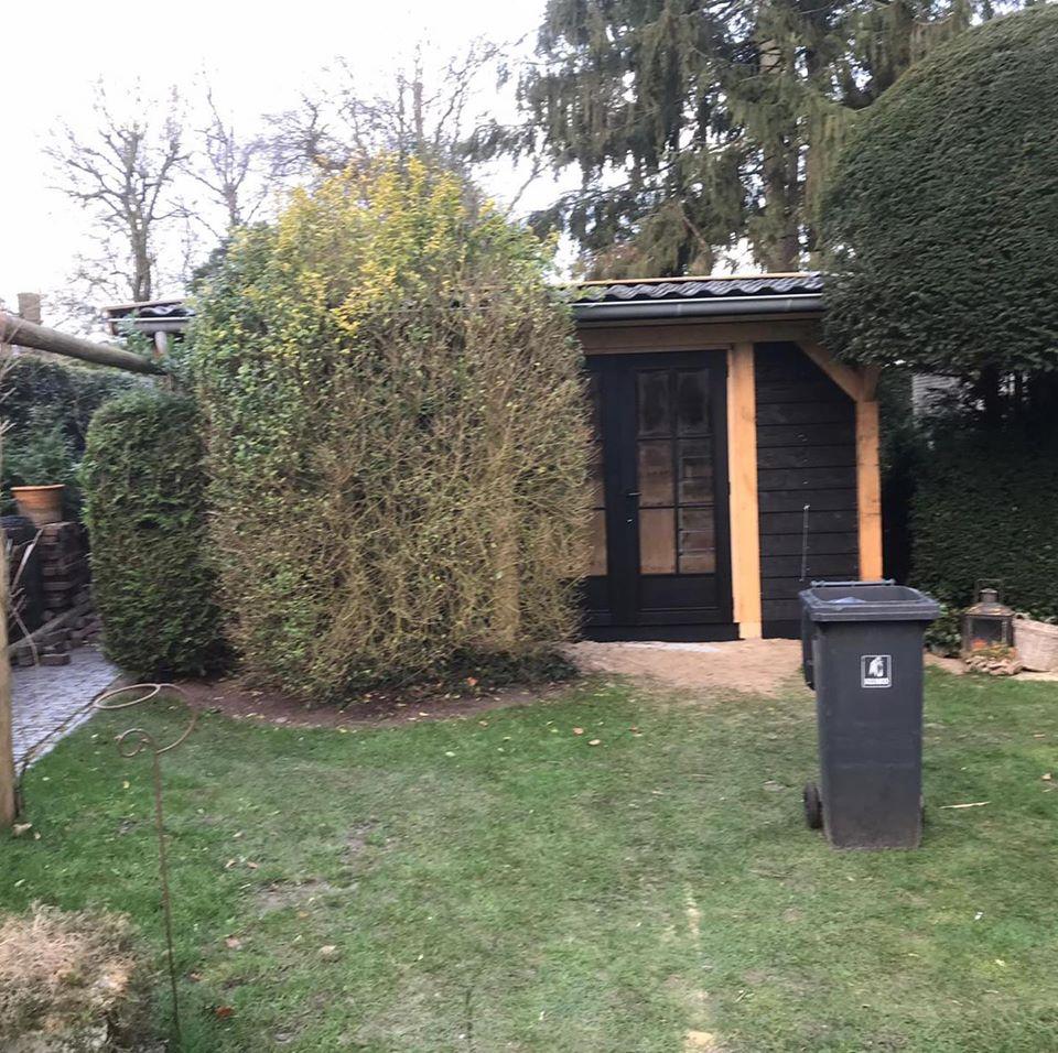 houten-tuinberging - Houten tuinberging