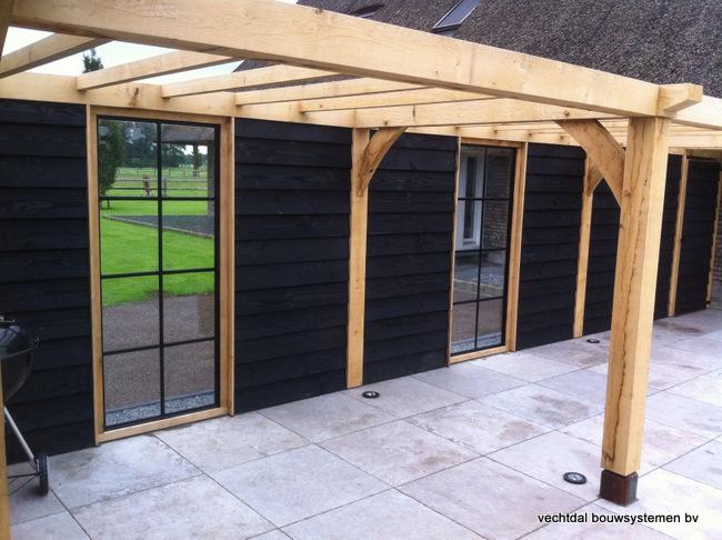 eiken-poolhouse-33 - Luxe houten overkapping