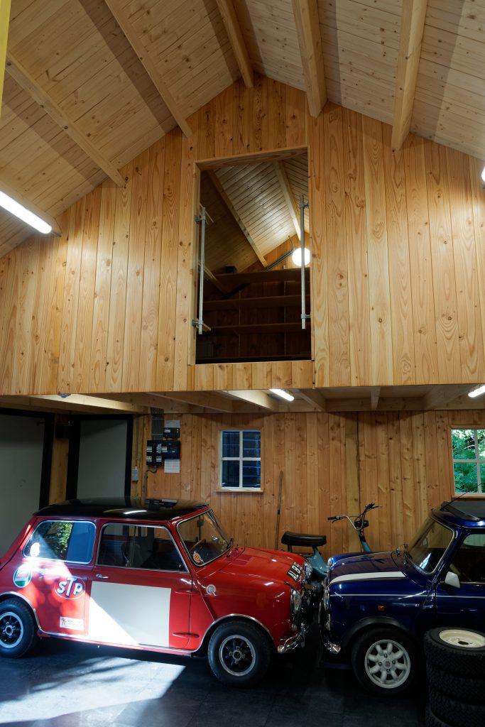 houten-garage-met-zonnepanelen-6-683x1024 - Houten garage met Zonnepanelen