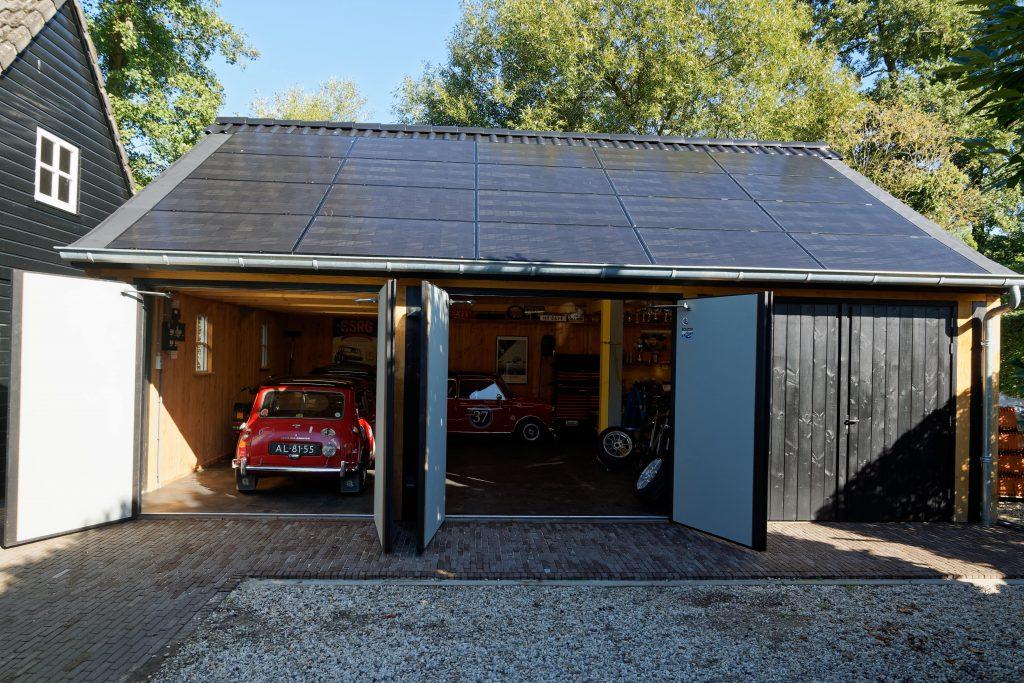 houten-garage-met-zonnepanelen-8-1024x683 - Houten garage met Zonnepanelen