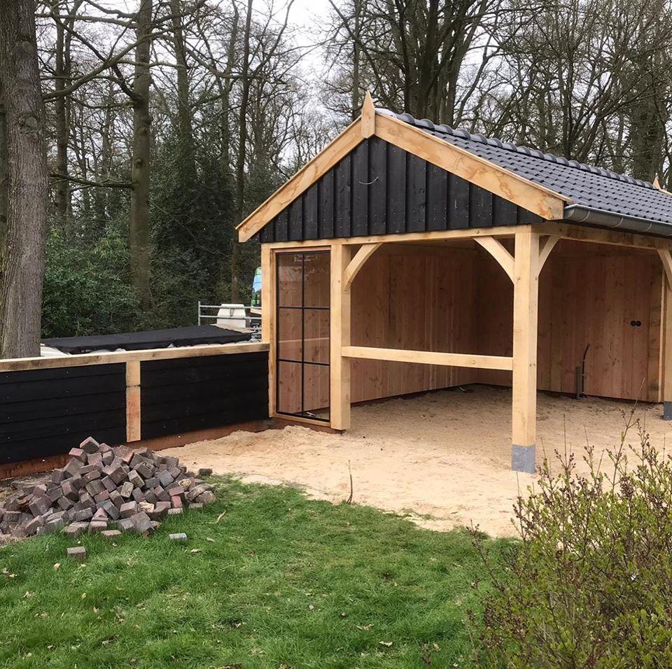 houten-tuinhuis-met-veranda-1 - Houten tuinhuis met veranda