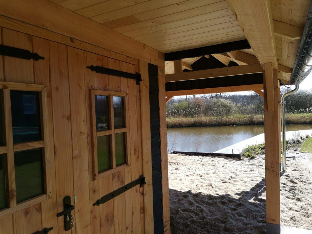 houten-tuinhuis-met-veranda-2-1024x768 - Houten tuinhuis met veranda
