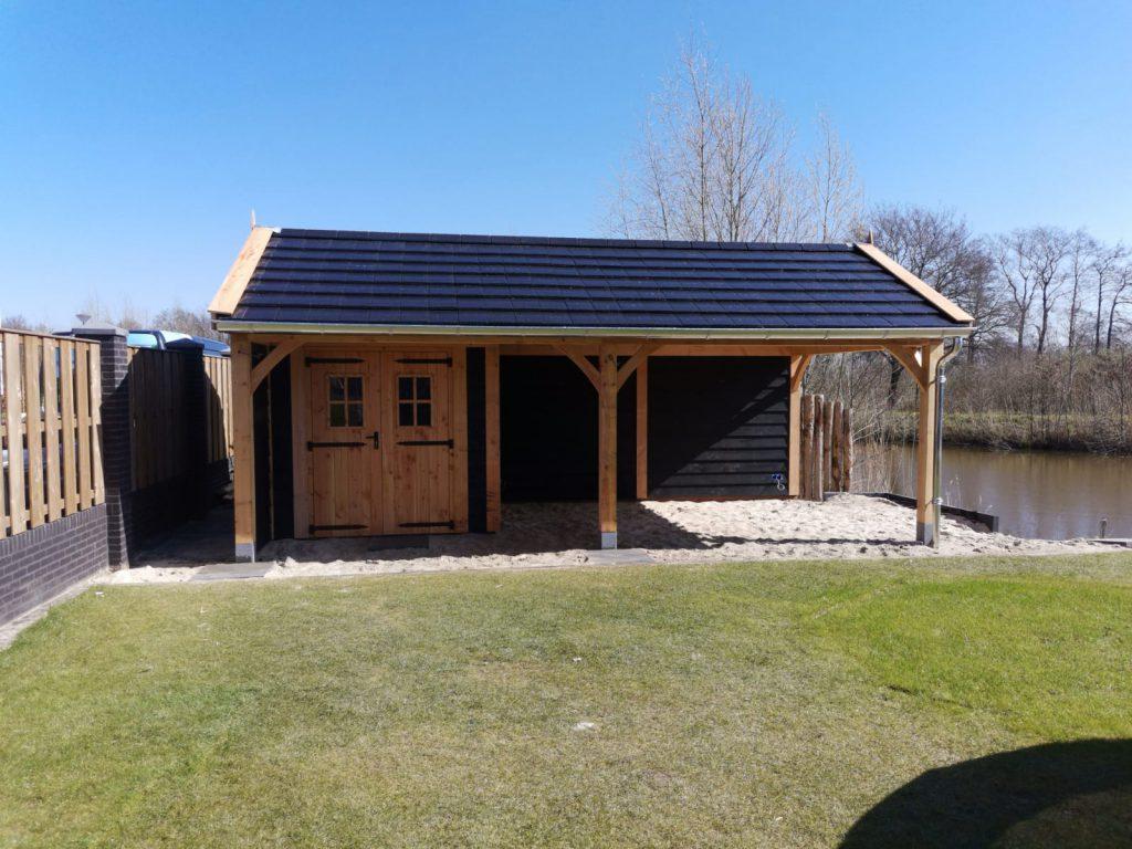 houten-tuinhuis-met-veranda-5-1024x768 - Houten tuinhuis met veranda