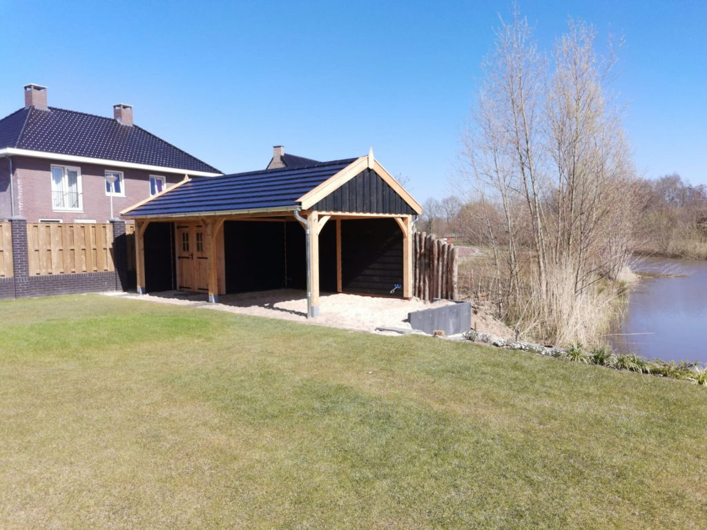 houten-tuinhuis-met-veranda-7-1024x768 - Houten tuinhuis met veranda
