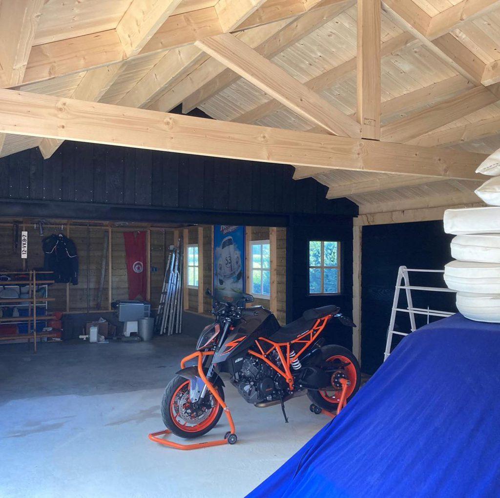 Houten-garage-hoekmodel-2-1024x1020 - Houten Garage