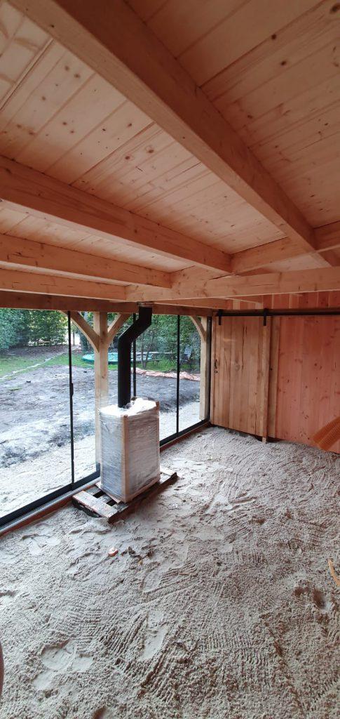 houten-tuinhuis-met-veranda-groendak-485x1024 - Tuinhuis met veranda groendak