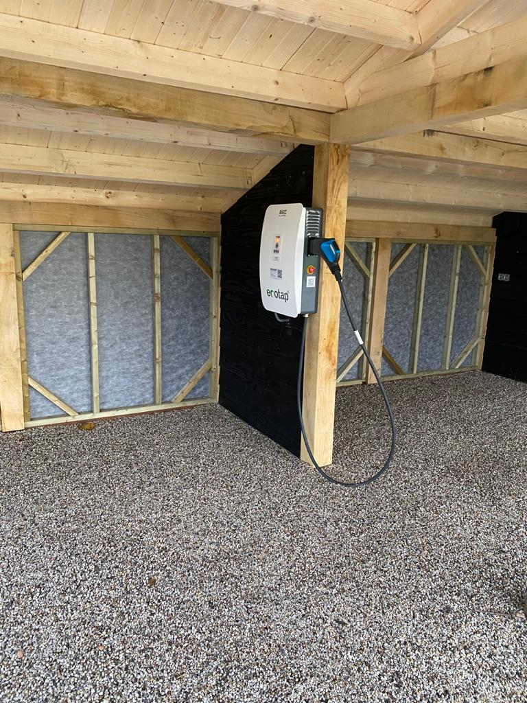 Houten-kapschuur-met-dubbele-carport-5 - Houten Carport