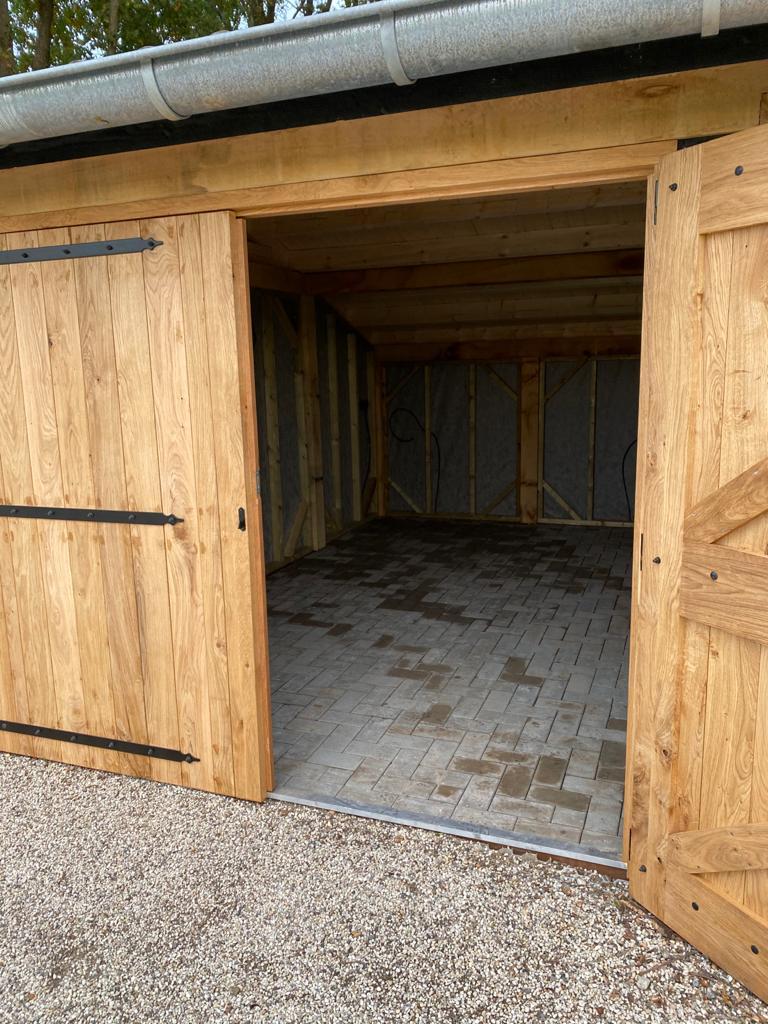 Houten-kapschuur-met-dubbele-carport-6 - Houten Carport
