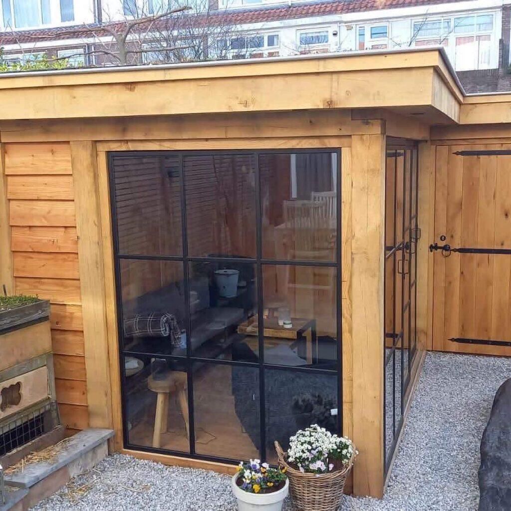 Hoekmodel-terrasoverkapping-1024x1024 - Stijlvolle garage met tuinkamer.