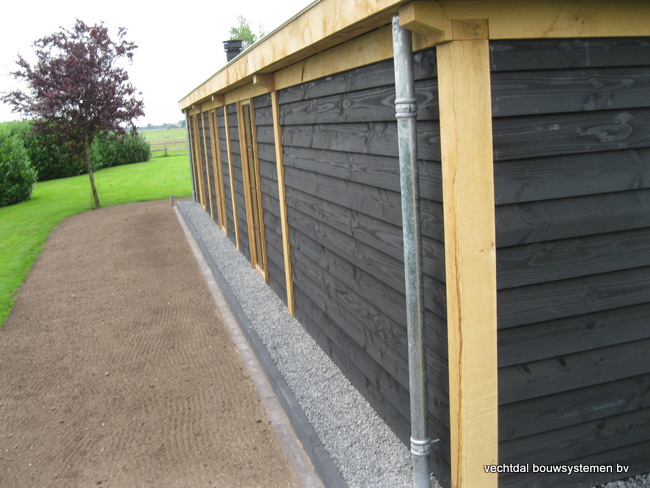 Eiken-poolhouse-met-pergola-4 - Houten terrasoverkapping