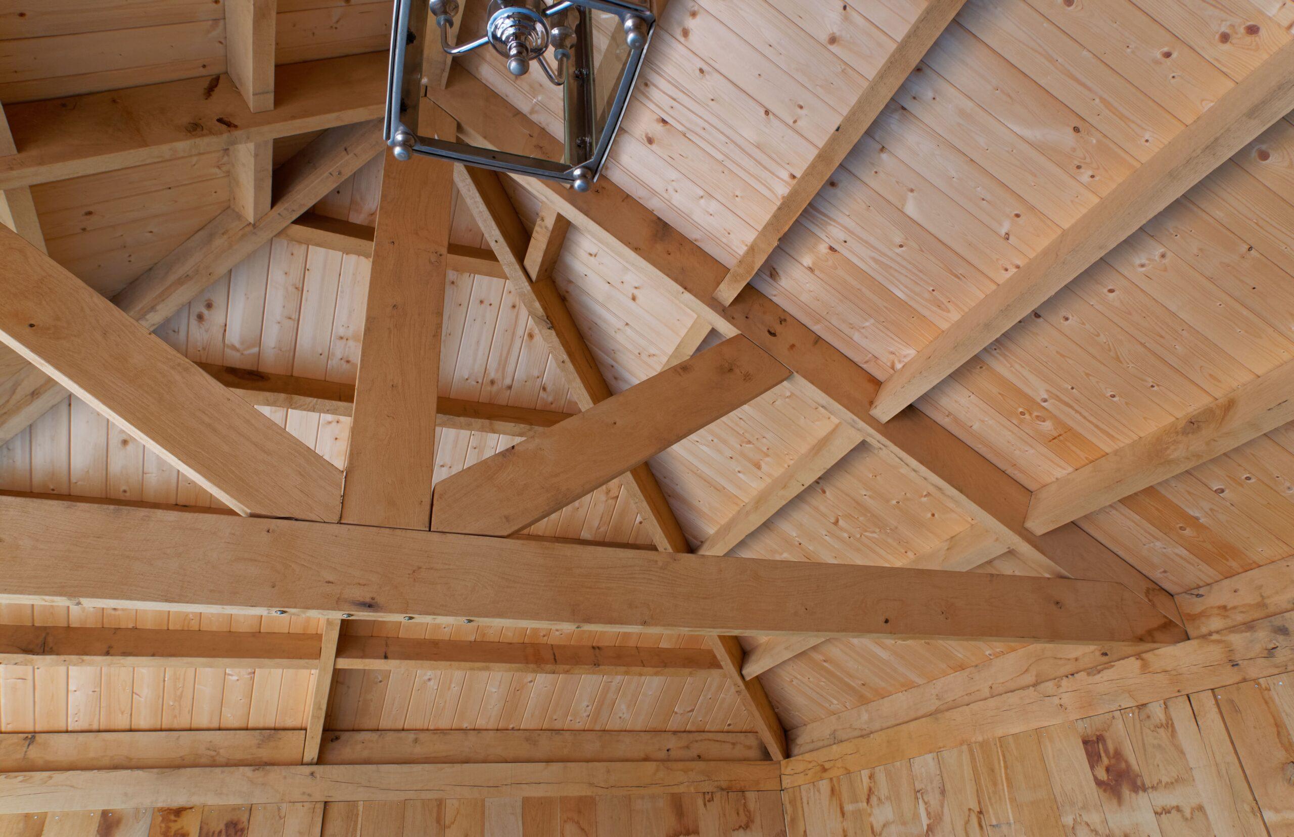 Eiken-bijgebouw-11-scaled - Project Laren: Houten schuur met sauna en tuinkamer