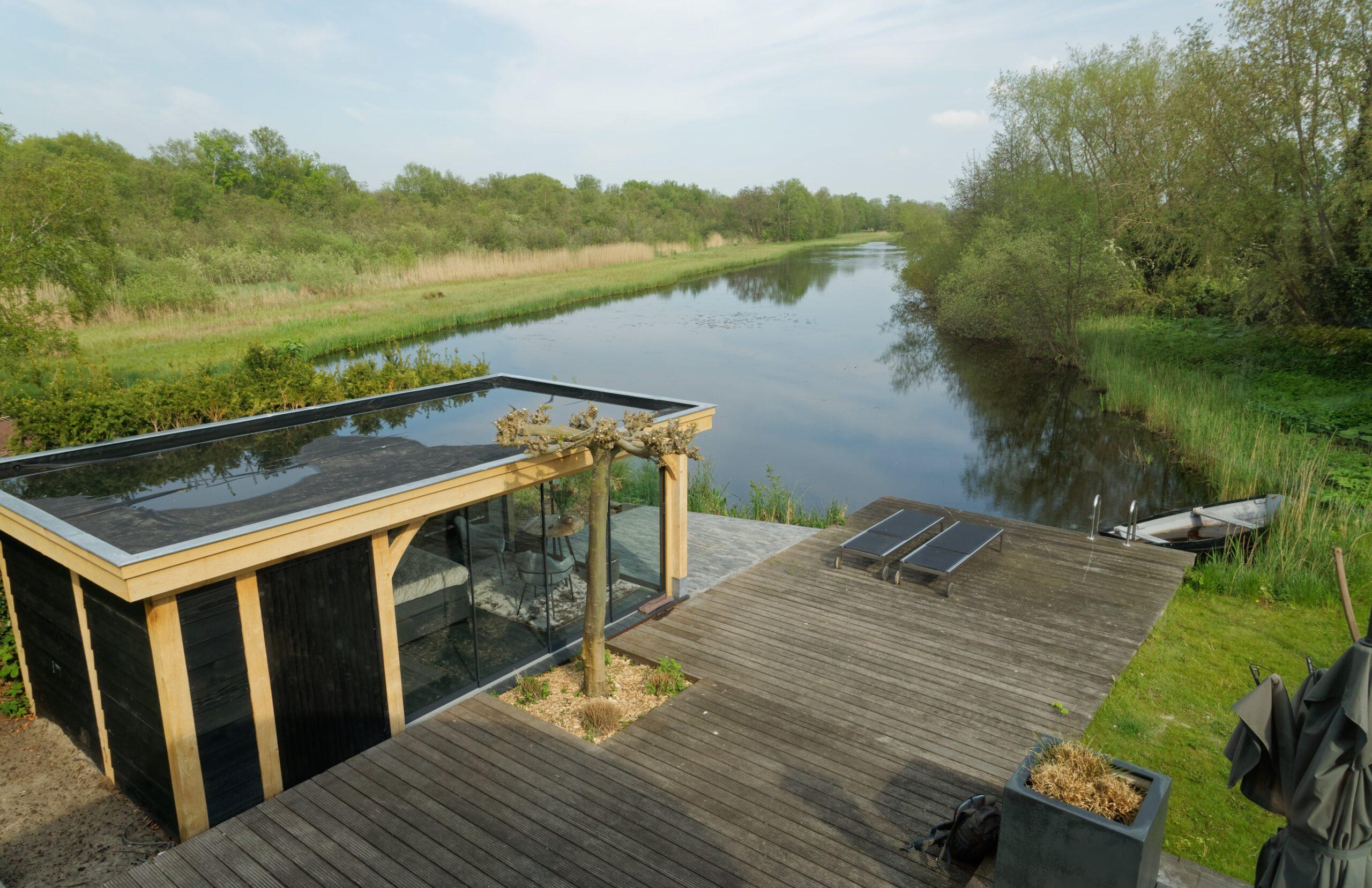 Luxe-tuinkamer-aan-het-water-10-scaled - Project Kortenhoef: Luxe tuinkamer aan het water