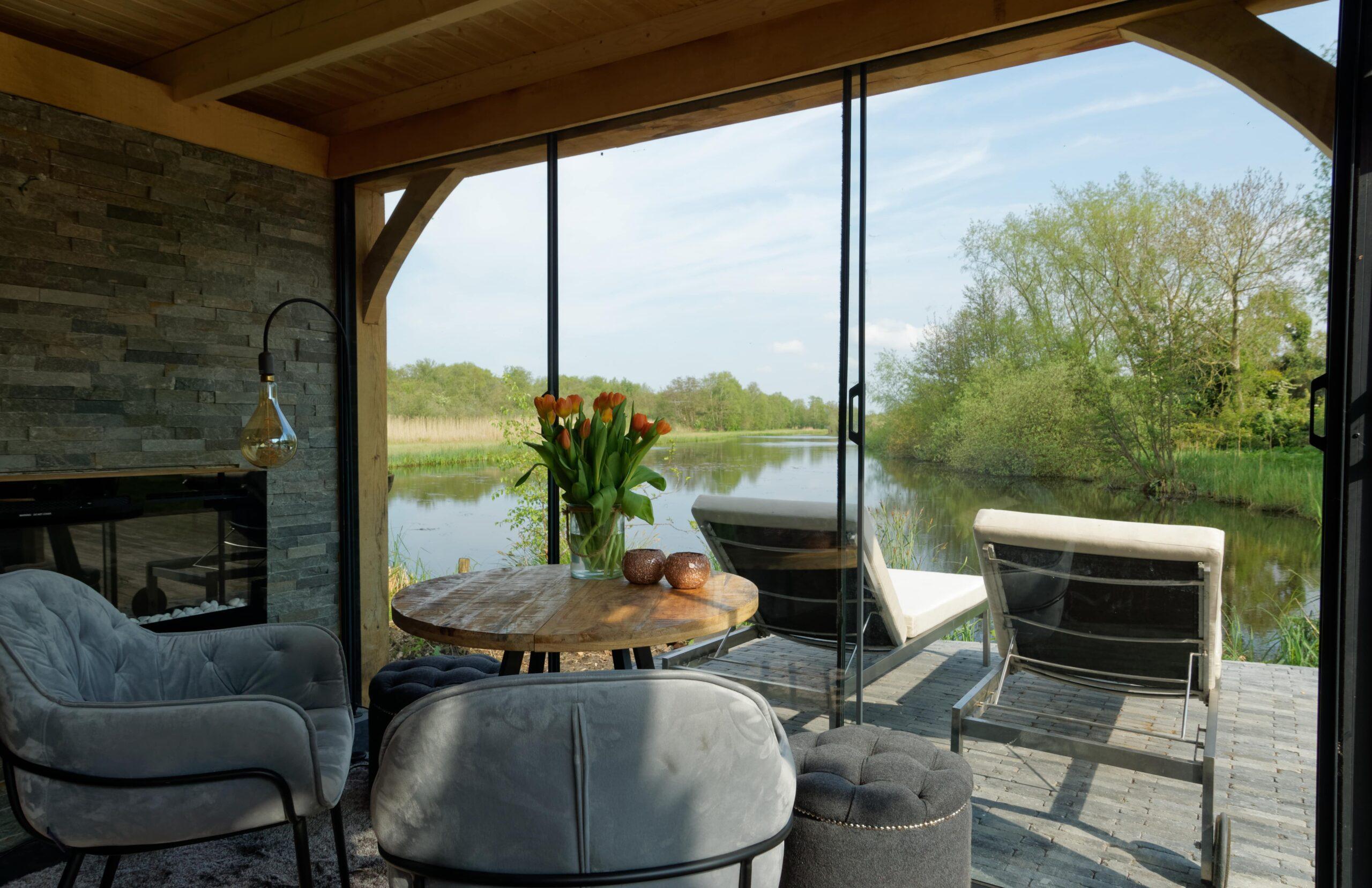 Luxe-tuinkamer-aan-het-water-12-scaled - Project Kortenhoef: Luxe tuinkamer aan het water