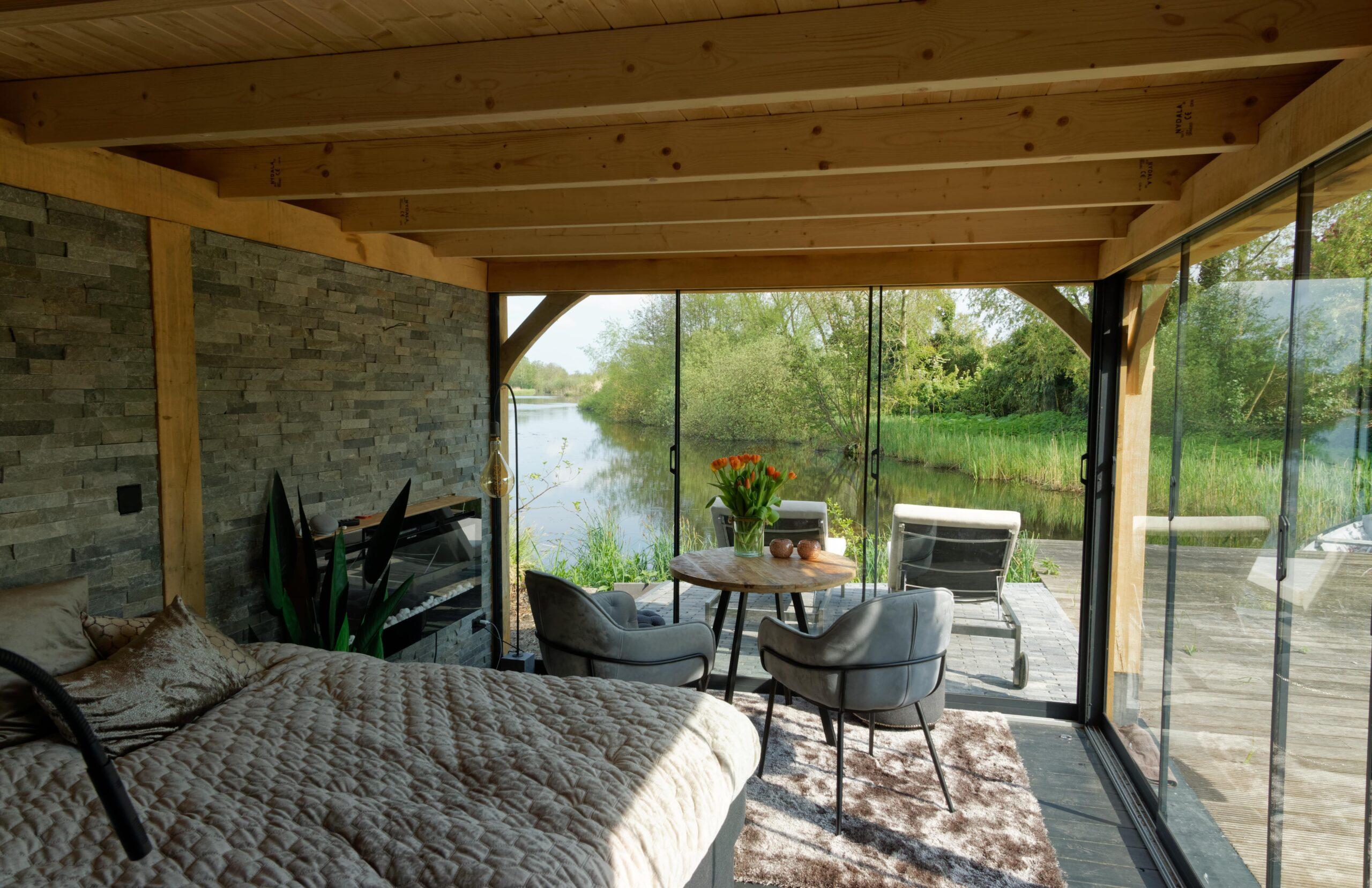 Luxe-tuinkamer-aan-het-water-14-scaled - Project Kortenhoef: Luxe tuinkamer aan het water