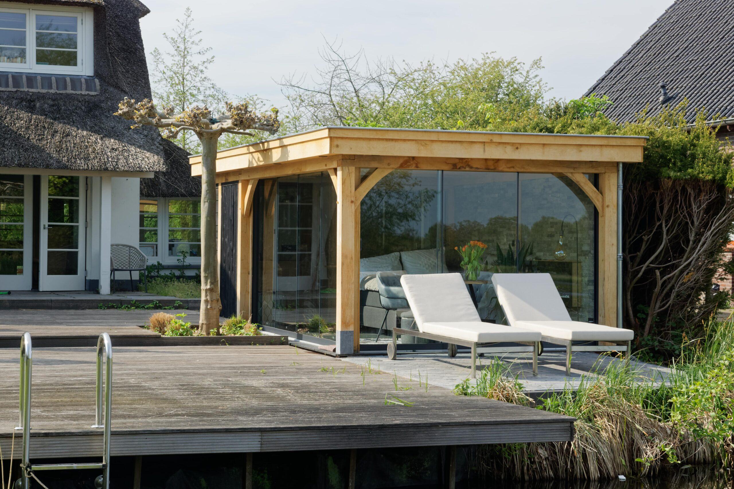 Luxe-tuinkamer-aan-het-water-15-scaled - Project Kortenhoef: Luxe tuinkamer aan het water