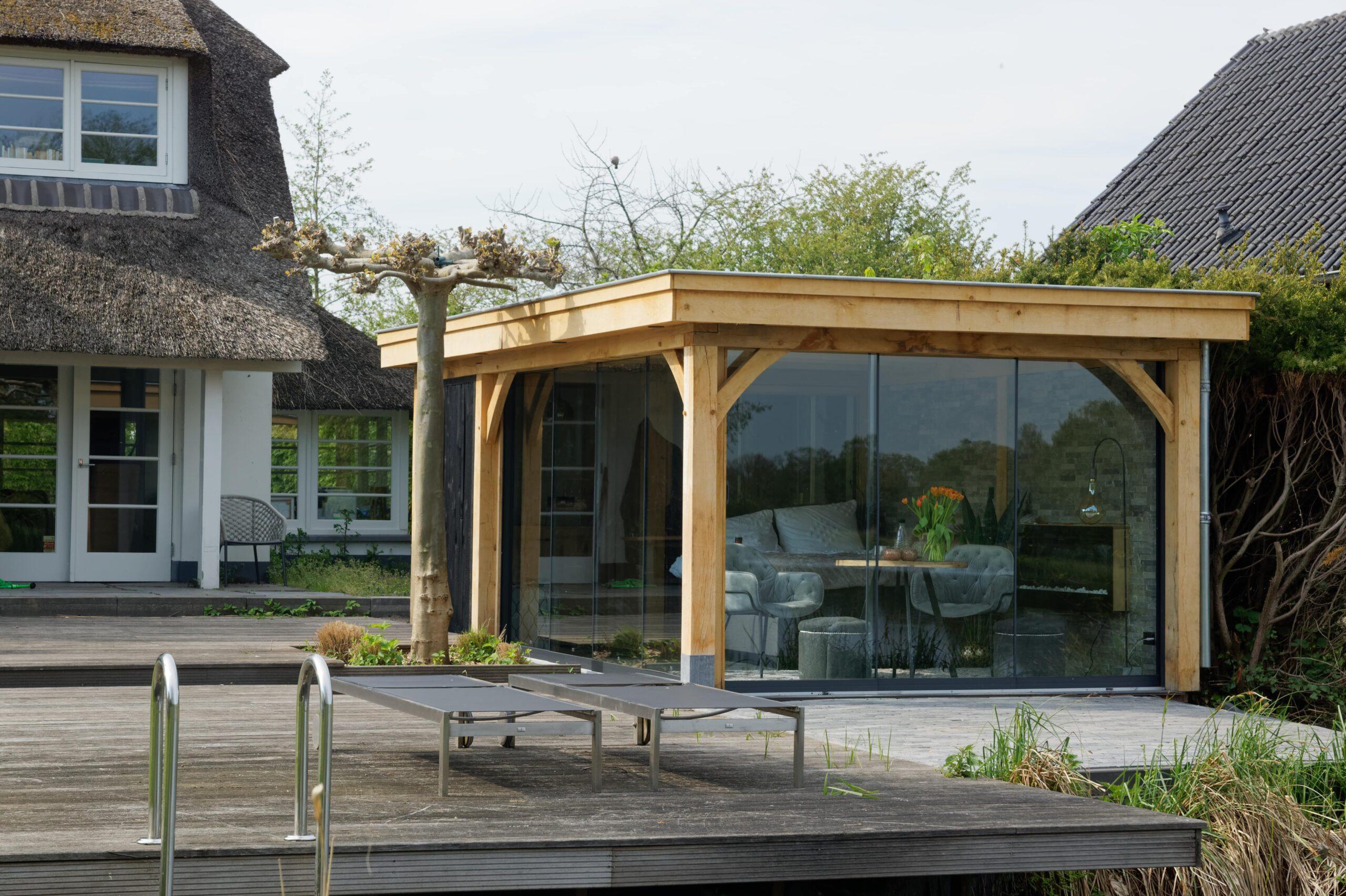 Luxe-tuinkamer-aan-het-water-4-scaled - Project Kortenhoef: Luxe tuinkamer aan het water