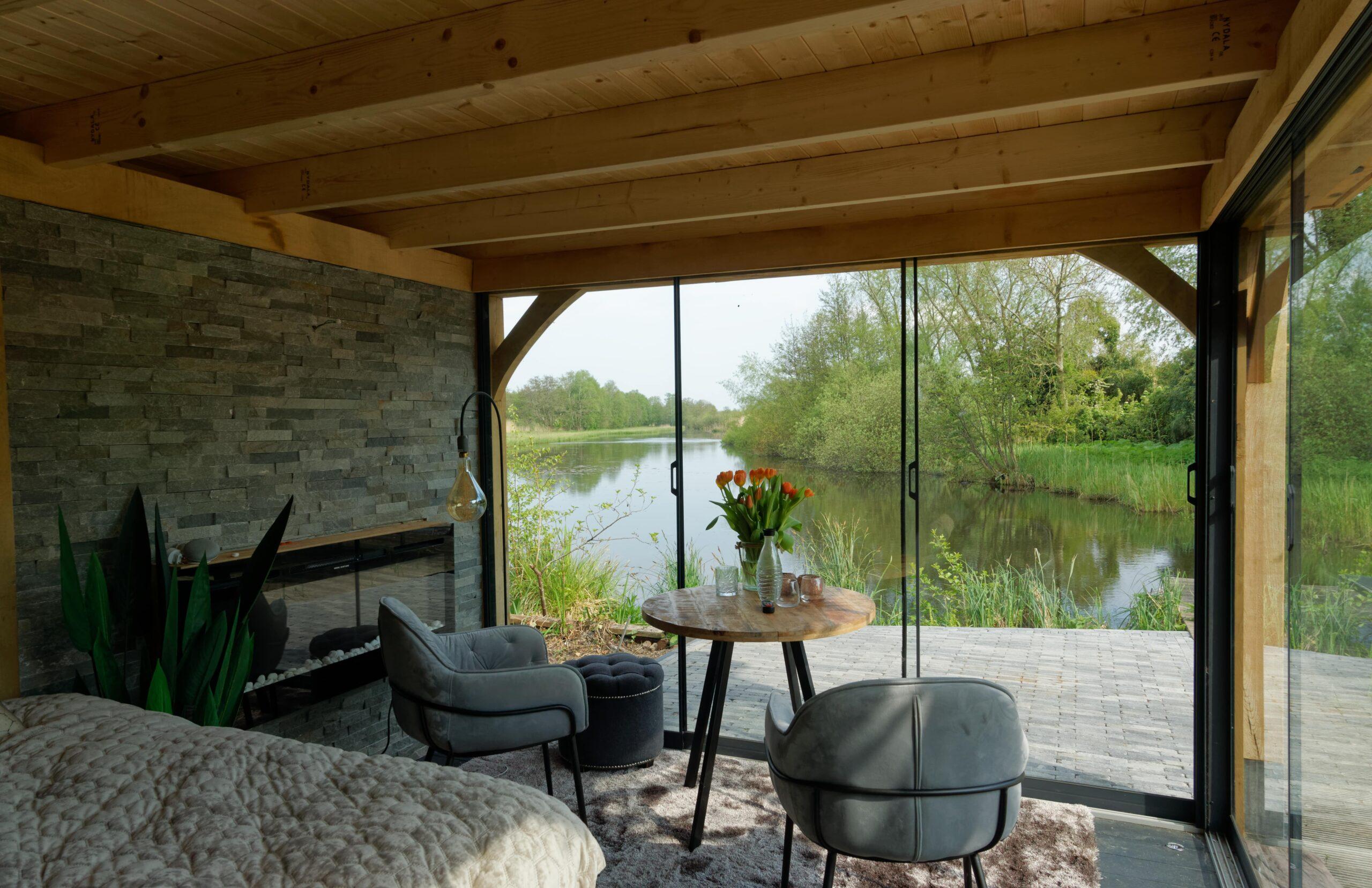 Luxe-tuinkamer-aan-het-water-5-scaled - Project Kortenhoef: Luxe tuinkamer aan het water