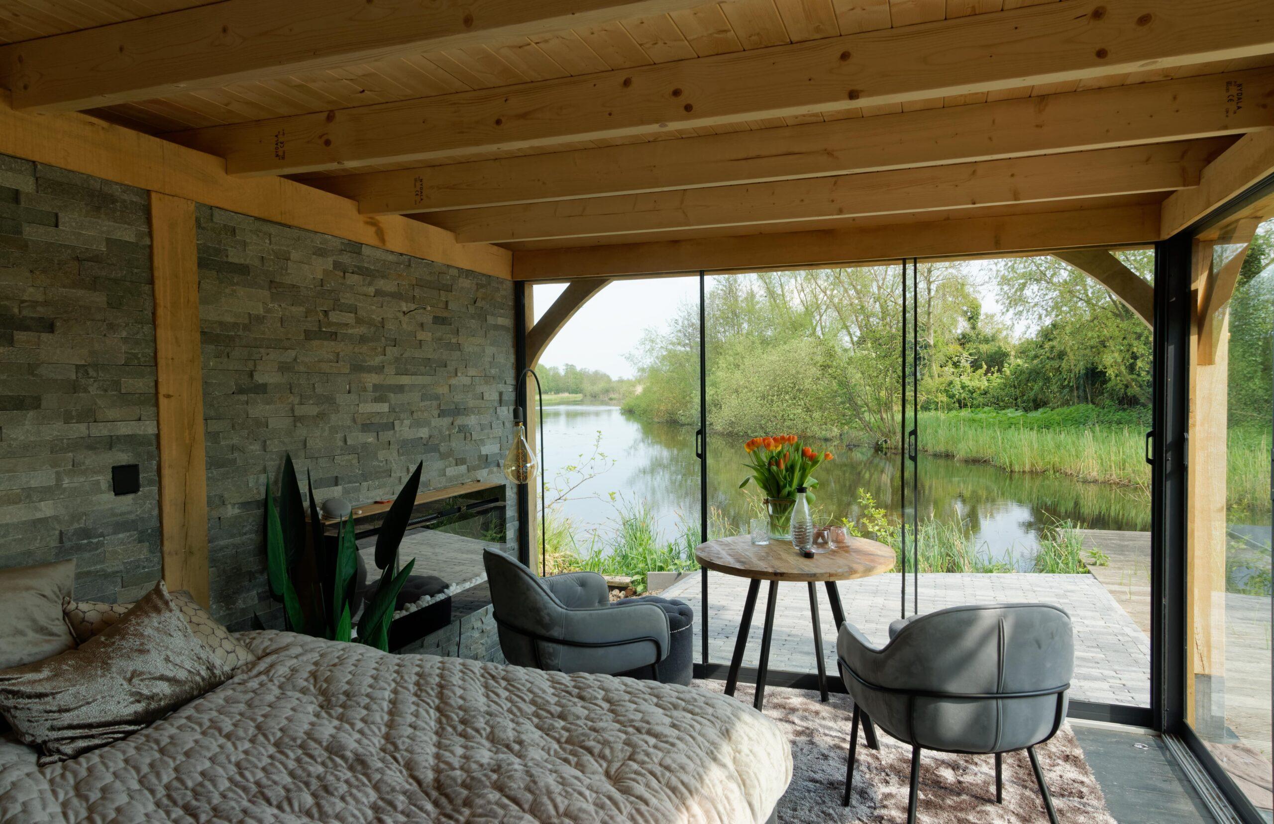Luxe-tuinkamer-aan-het-water-6-scaled - Project Kortenhoef: Luxe tuinkamer aan het water