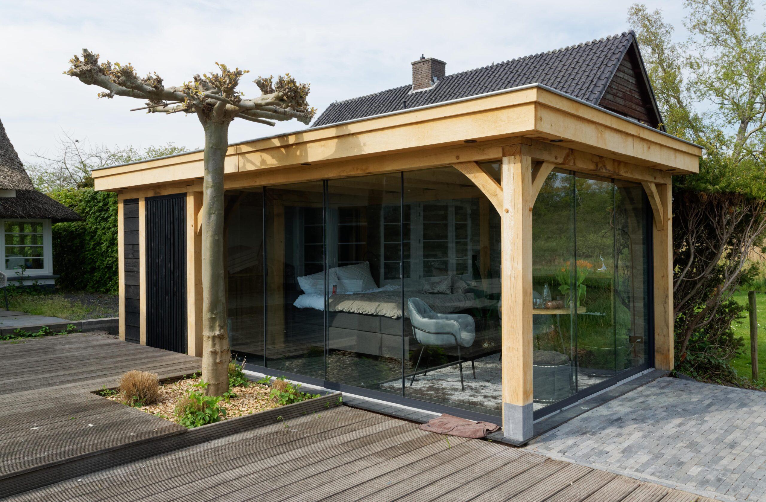 Luxe-tuinkamer-aan-het-water-scaled - Project Kortenhoef: Luxe tuinkamer aan het water