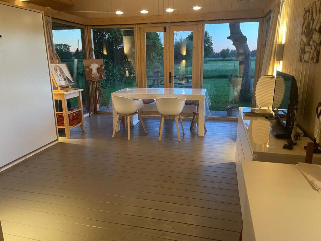 eiken-atelier-met-groendak-2-1024x768 - Houten atelier/verblijfsruimte