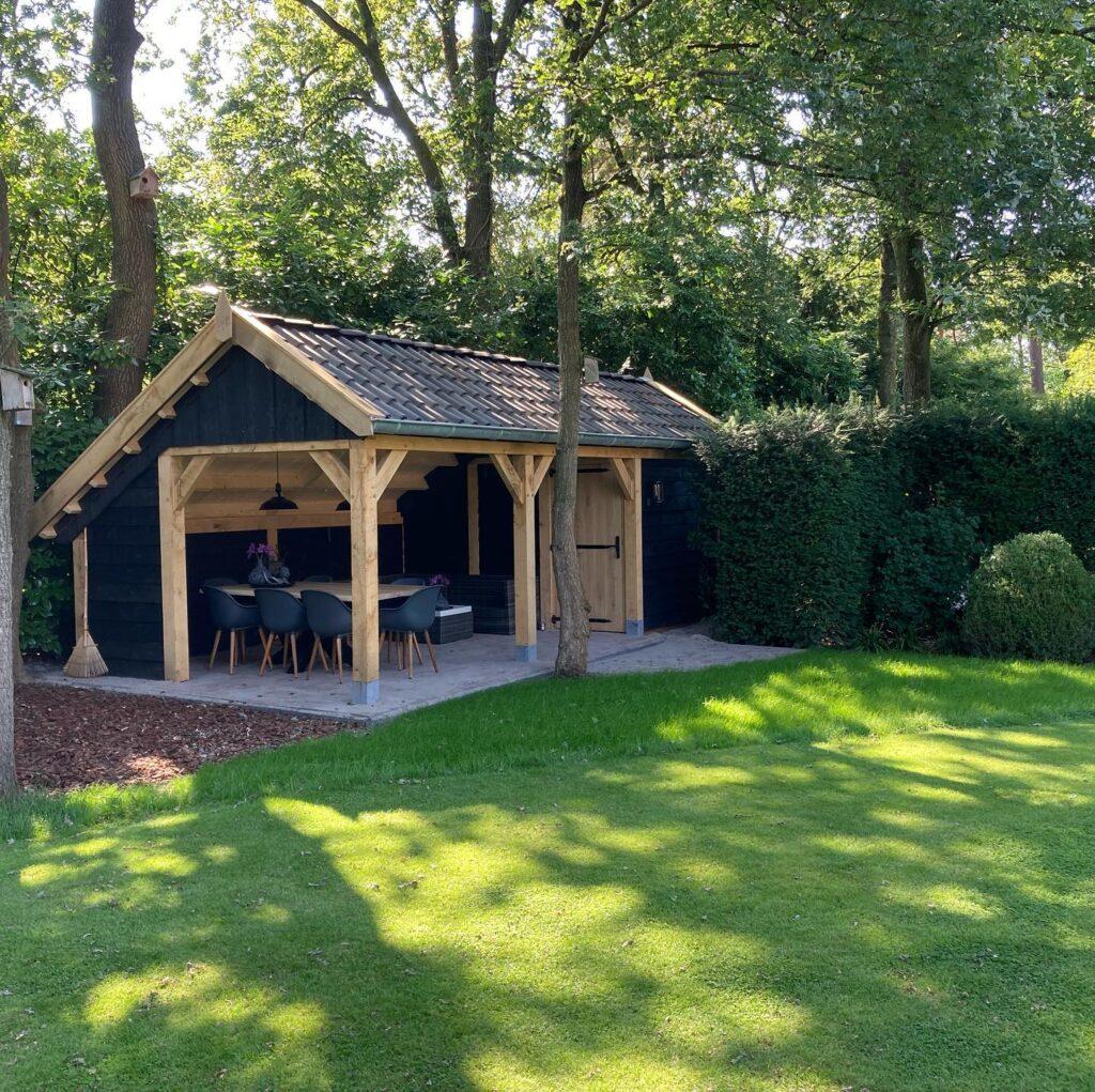 houten-kapschuur-met-tuinkamer-1-1024x1021 - Houten kapschuur met tuinkamer