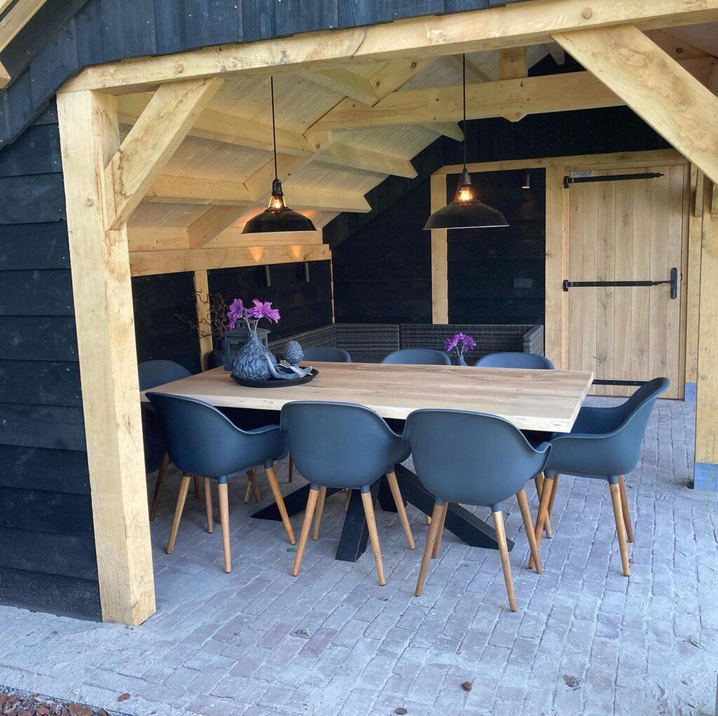 houten-kapschuur-met-tuinkamer-6-1024x1021 - Houten kapschuur met tuinkamer
